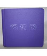 Creative Memories Purple Scrapbook 7 x 7 Emboss... - $21.95