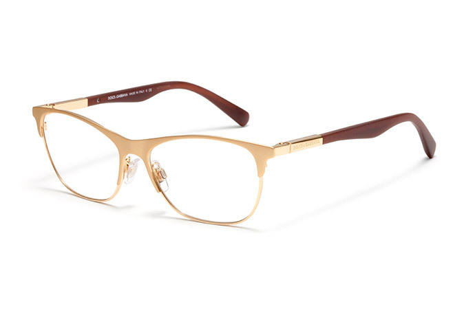 New Authentic Dolce & Gabbana DG 1246 1224 Matte Gold ...