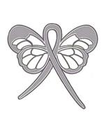 Gray Silver Ribbon Butterfly Lapel Pin Brain Ca... - $10.97