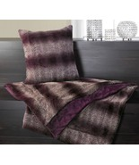 Throw Blanket and Pillow Orchid ombreis dreamy... - $44.97