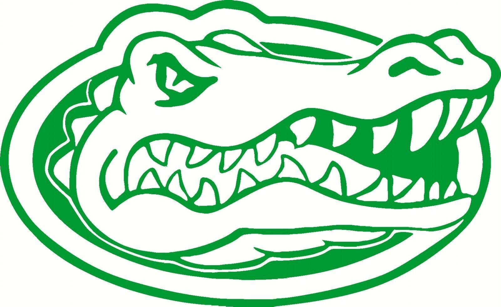 "NCAA Florida Gators Logo Decal Sticker 5"" X 8"" Green FREE ..."