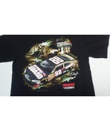 Men's Medium #88 Dale Earnhardt Jr. Black Nasca... - $10.90