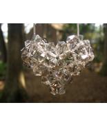 Swarovski Crystal Puffy Heart Necklace in Black Diamond - $20.00
