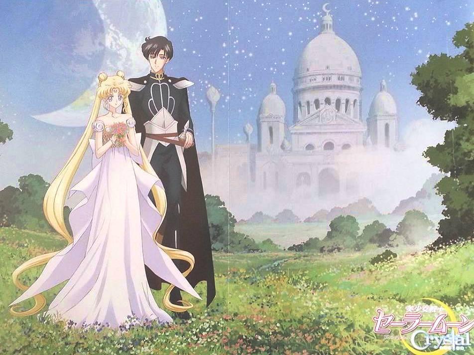 ... Anime Poster Princess Serenity Prince Endymion Mamoru Usagi - Posters