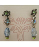 Earrings, Sweet Romance, Darci Clarit Aqua  - $11.00