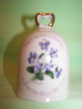 Porcelain Bell Decorative Bells Floral Grandmot... - $9.74