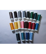 Sulky Poly Deco Embroidery Thread Set B 20 spools - $48.00