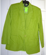Savannah Petite Size 4 Lime Green Skirt and Jac... - $24.99