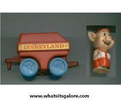 DISNEYLAND PLAYSET parts - train + Practical Pi... - $10.00