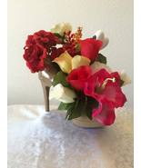 Ella's Shoe Floral Arrangements - Biege Shoe wi... - $30.00