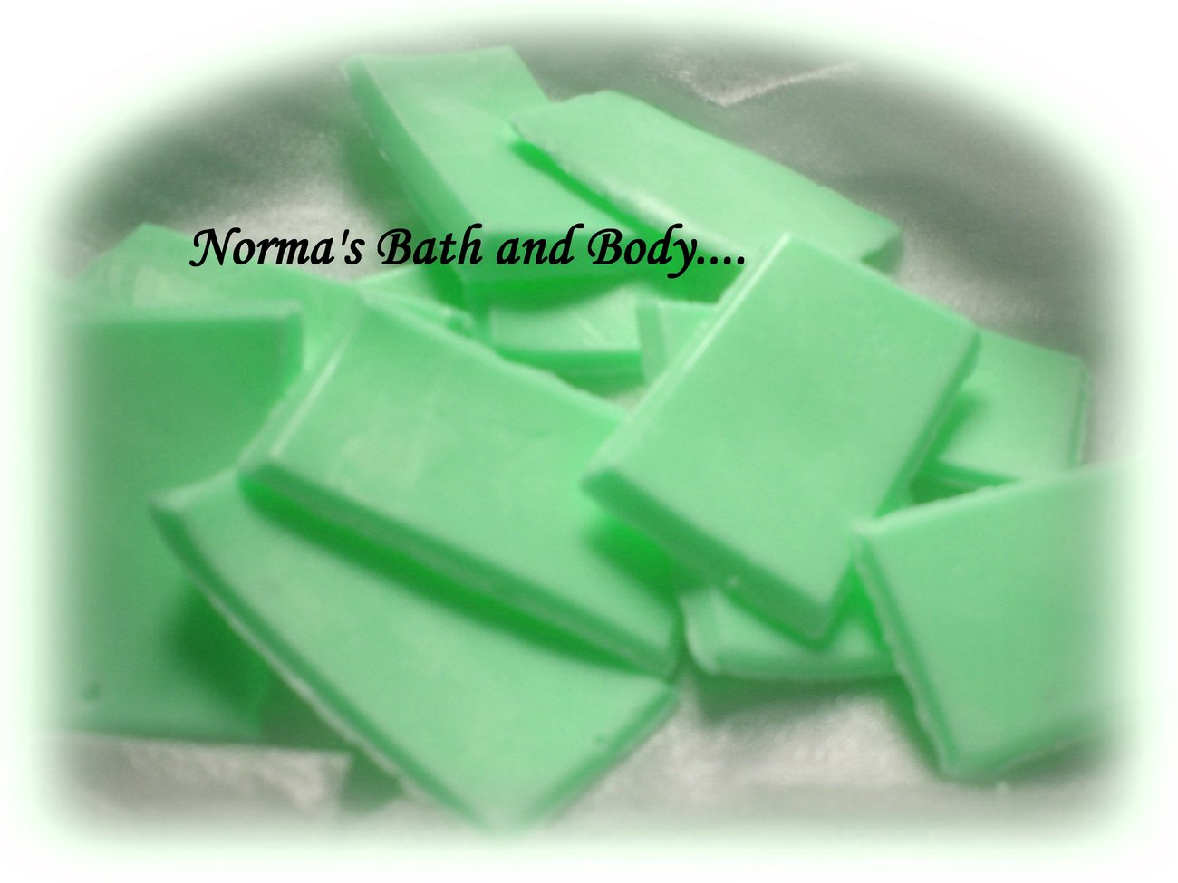 apple soap samples. set of 10