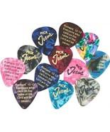 Pick Jesus Guitar Picks - 6 Pack - Bible Verse - - $6.25