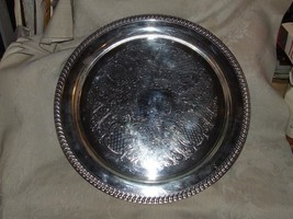 Vintage 1969-78 LEONARD Silverplate Large 15 1/... - $54.45