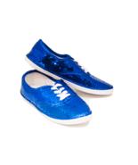 Sequin CVO Royal Blue Canvas Sneakers Tennis Sh... - $39.99