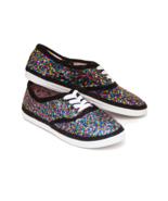 Sequin CVO Rainbow Multi Colored Speckle Sneake... - $39.99