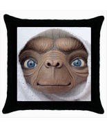 NEW* HOT E.T THE EXTRA TERRESTRIAL Black Throw ... - $15.99