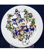 Porsgrund Norway Soccer Collector Plate Footbal... - $12.97