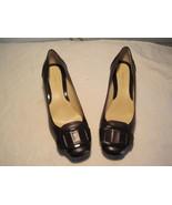 Nine West Brown Dress Shoes Women Size 71/2M - $15.60