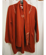 Style & Co Little Red Dress w/Scarf Simply Ador... - $15.00
