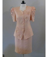 Belldini Ladies Dress Suit With Faux Pearls Siz... - $48.00