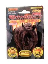Libimax Rhinomax Male Enhancement Sexual Pill! ... - $24.99