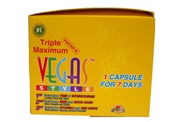 Vegas Style Triple Maximum Premium 7 Days Male ... - $125.99