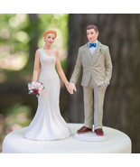Woodland Casual Wedding Couple Cake Topper Cust... - $23.74 - $47.48