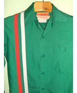 Men's 60's Vintage Racing Stripe Work Shirt - $18.00