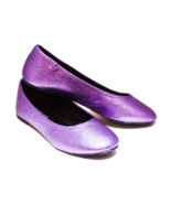 Glitter Lavender Light Purple Ballet Flat Slipp... - $39.99