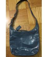 Coach bleecker blue patent Sophie leather duffl... - $78.50
