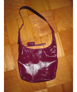 Coach Sophie plum red patent leather duffle 123... - $88.00