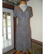 Ann Taylor size 4 Brown Dot Work Church Date dr... - $25.99