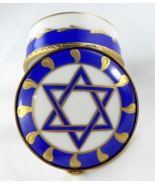 Limoges Box - Star of David Judaica Hanukkah - ... - $85.00