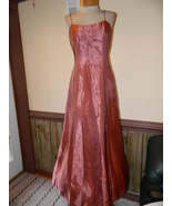 Night Way size 8 Copper Prom Pageant Cruise Par... - $39.99