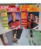 Star Trek The Next Generation Magazines w/Poste... - $4.95