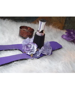 Dezine-A Nail Polish Holder (Purple Lace) - $19.99