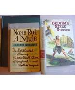 5 lot Vintage books assortment NONE BUT A MULE ... - $1.99