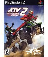 ATV Quad Power Racing 2 PS2 Playstation Game Pr... - $6.59