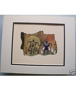 Expecting Couple by Ginny Hogan Cave Drawing Print - $29.69