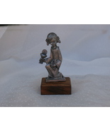 First Eucharist Little Girl Figuirne, Made of P... - $8.99