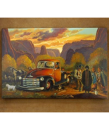 Limited Edition Navajo Sheep Camp in the Canyon... - $333.07