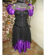 Masquerade 4 pc purple black Victorian Steampun... - $145.00