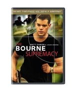 The Bourne Supremacy Matt Damon Widescreen DVD ... - $5.99