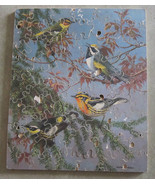 60 Piece Wood Puzzle Antique Birds Walter Weber... - $30.00
