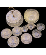 18 Anchor Hocking Sandwich Glass Plates Cups Bo... - $40.00