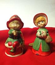 Handcrafted Bisque Porcelain Bells: Jasco 1978 ... - $5.00