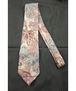 Hanover Men's Dress Silk Neck Tie Green Red Lea... - $15.00