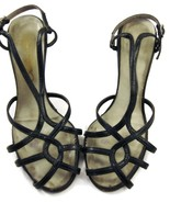 Fashion Stride Shoes Heels Sandals Open-Toe Bla... - $20.00