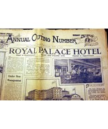 Sunday Press Philadelphia Newspaper 1904 Royal ... - $20.00