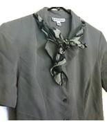 Dressbarn Dress Light Green Women's Size 6 Shor... - $20.00